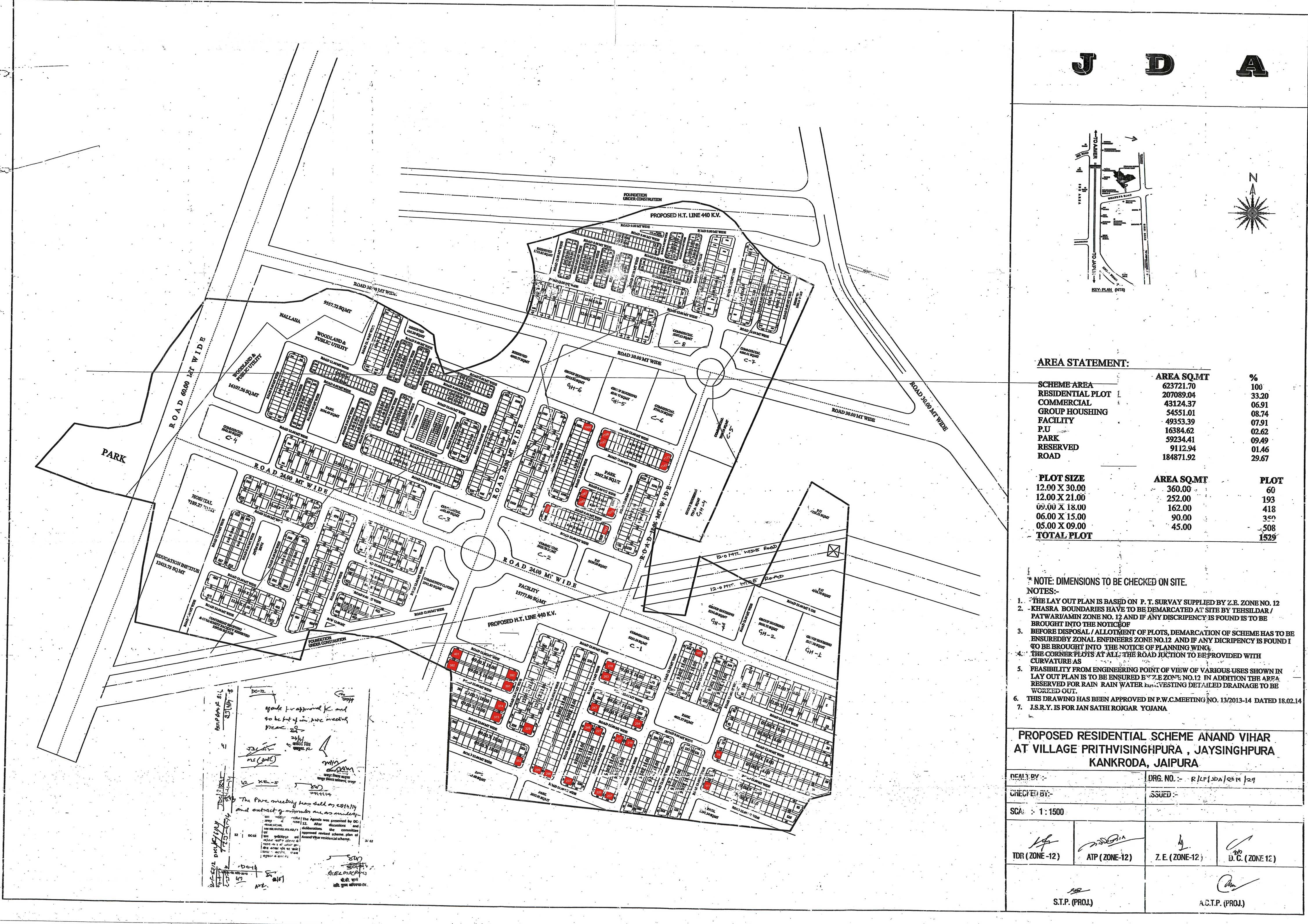 E auction portal for Zone plan